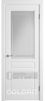 Дверь К2 ПО Эмаль белая