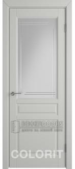 Дверь К2 ПО Эмаль светло-серая