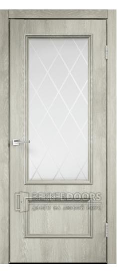 Дверь IMPERIA 2V Дуб Шале Седой