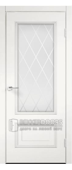 Дверь IMPERIA 2V Пломбир Браш