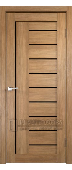 Дверь LINEA 3 Золотистый дуб