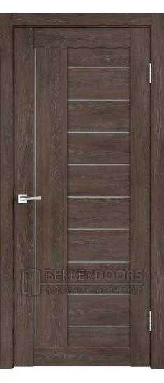 Дверь LINEA 3 Дуб Шале Корица