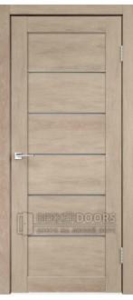 Дверь LINEA 1 Дуб Шале песок