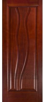 Дверь Иллюзион ПГ Красное дерево