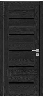Дверь 502 ПО Антрацит лакобель черное