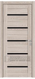 Дверь 502 ПО Капучино лакобель черное