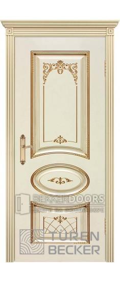 Дверь ПРОВАНС В3 ПГ патина золото