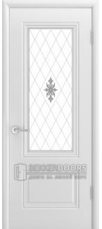 Дверь Аккорд ПО Эмаль белая