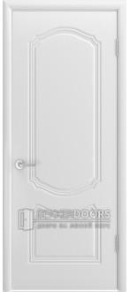 Дверь Класика ПГ Эмаль белая