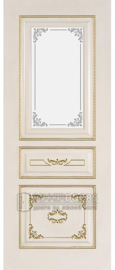 Дверь Амелия ПО Белое дерево