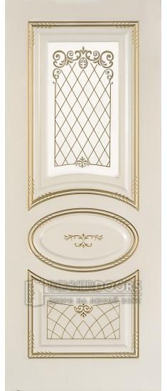 Дверь Марго ПО Белое дерево
