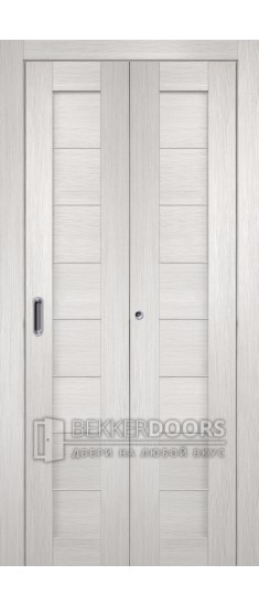 Дверь Темпо 10 Белый Складная