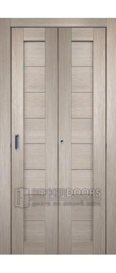 Дверь Темпо 10 капучино Складная