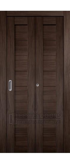 Дверь Темпо 10 Венге Складная