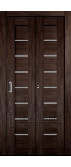 Дверь Темпо 11 Венге Складная