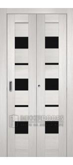 Дверь Темпо 12 Белый Складная
