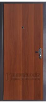 Дверь ДМ ЭКОНОМ Тёплая Итальянский орех (Внутренняя)