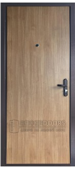Дверь ДМ ЭКОНОМ Тёплая Дуб арден (Внутренняя)