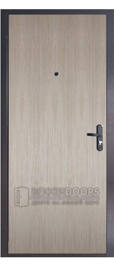 Дверь ДМ ЭКОНОМ Тёплая Капучино (Внутренняя)