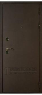 Дверь ДМ Брауни Бронза шелк (Внешняя)
