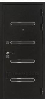 Дверь ДМ Токио Чёрный шелк (Внешняя)