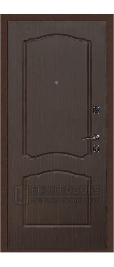 Дверь ДМ Стандарт Антик медь/Классика Венге (Внутренняя)