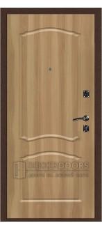 Дверь ДМ Стандарт Антик Медь/Классика Дуб золотой (Внутренняя)
