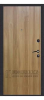 Дверь ДМ Стандарт Антик серебро/Гладкая Дуб золотой (Внутренняя)