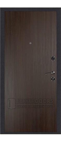 Дверь ДМ Стандарт Антик серебро/Гладкая Венге (Внутренняя)
