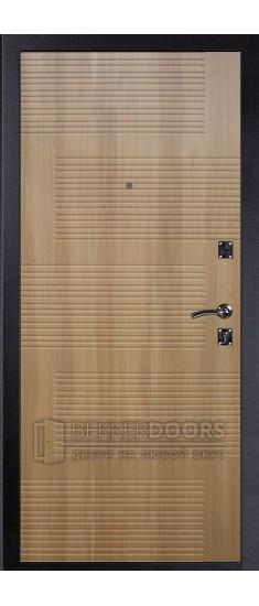 Дверь ДМ Стандарт Муар Шелк/Колизей Дуб золотистый (Внутренняя)