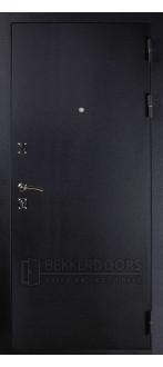 Дверь ДМ Стандарт Муар Шелк (Внешняя)