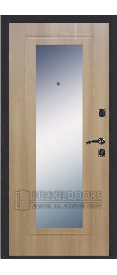 Дверь ДМ Стандарт Ультра/Зеркало Дуб Золотистый (Внутренняя)