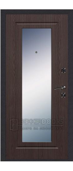 Дверь ДМ Стандарт Ультра/Зеркало Венге (Внутренняя)
