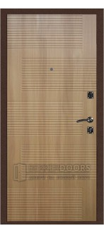 Дверь ДМ Стандарт Антик медь/ Колизей Дуб Золотистый (Внутренняя)