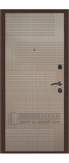 Дверь ДМ Стандарт Антик медь/Колизей Капучино (Внутренняя)