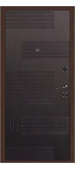 Дверь ДМ Стандарт Антик медь/Колизей Венге (Внутренняя)