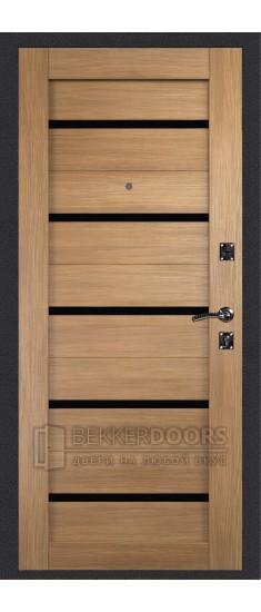 Дверь ДМ Стандарт Антик Серебро/Танго Дуб Золотистый (Внутренняя)