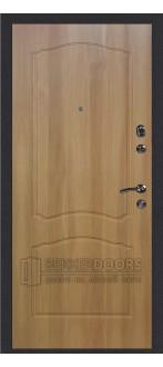 Дверь ДМ Колизей/Классика Дуб Золотистый (Внутренняя)