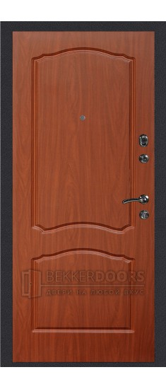 Дверь ДМ Колизей/Классика Итальянскиий орех (Внутренняя)