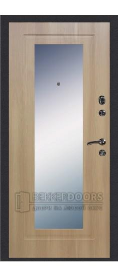 Дверь ДМ Колизей/Зеркало Дуб Золотистый (Внутренняя)