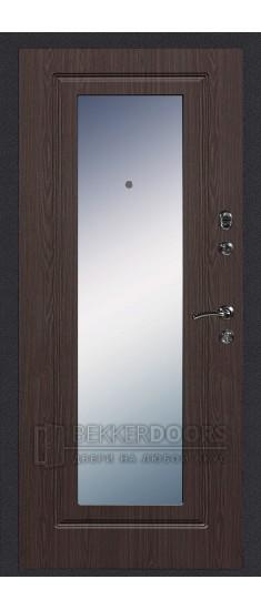 Дверь ДМ Колизей/Зеркало Венге (Внутренняя)