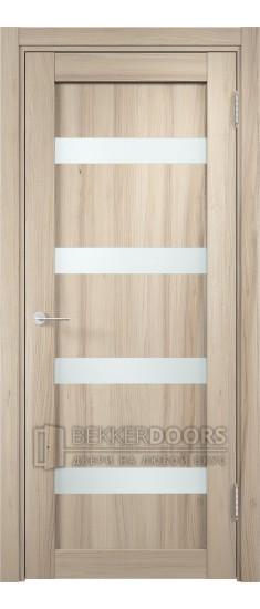 Дверь ПО Верона 05 Капучино Стекло Сатинато Люкс