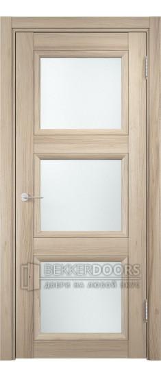 Дверь ПО Милан 10 Капучино Стекло Сатинато Люкс