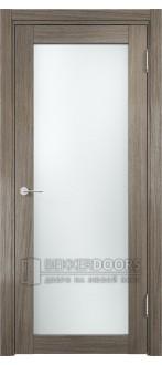 Дверь ПО Рома 02 Вишня Малага Стекло Сатинато Люкс