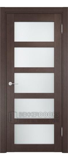 Дверь ПО Рома 14 Венге Стекло Сатинато Люкс