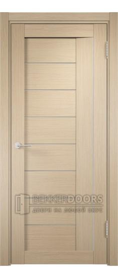 Дверь ПО Сицилия 13 Беленый дуб Стекло Сатинато Люкс