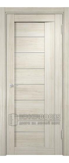 Дверь ПО Сицилия 13 Беленый дуб мелинга Стекло Сатинато Люкс