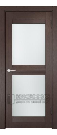 Дверь ПО Тоскана 04 Венге Стекло Сатинато Люкс