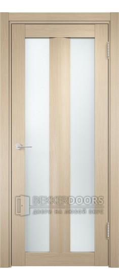 Дверь ПО Тоскана 06 Беленый дуб Стекло Сатинато Люкс