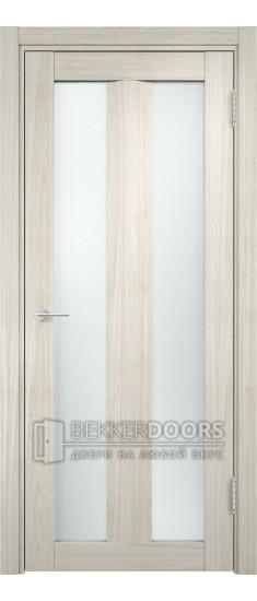 Дверь ПО Тоскана 06 Беленый дуб мелинга Стекло Сатинато Люкс